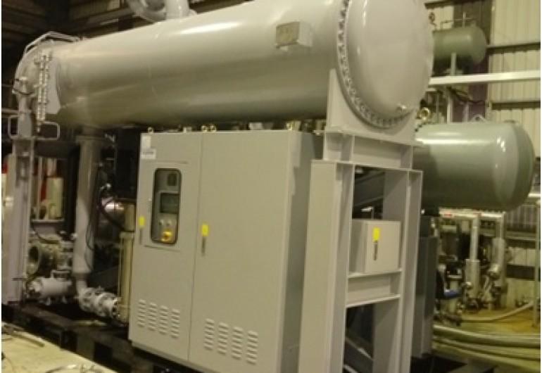 熱水餘熱回收機組  202kW - 中國山東