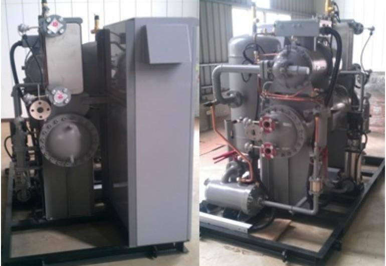 熱水餘熱回收ORC機組 20kW-泰國