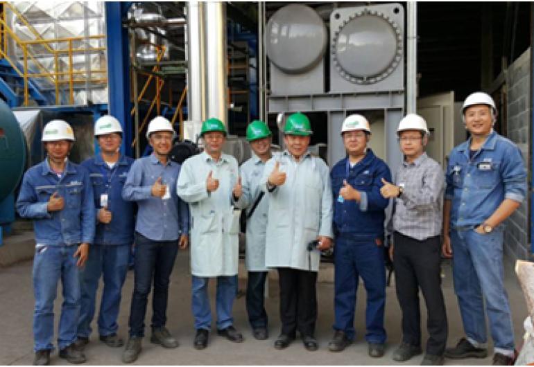 煙氣餘熱回收ORC機組230kW-泰國