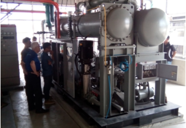 蒸汽餘熱回收ORC機組-136kW-菲律賓