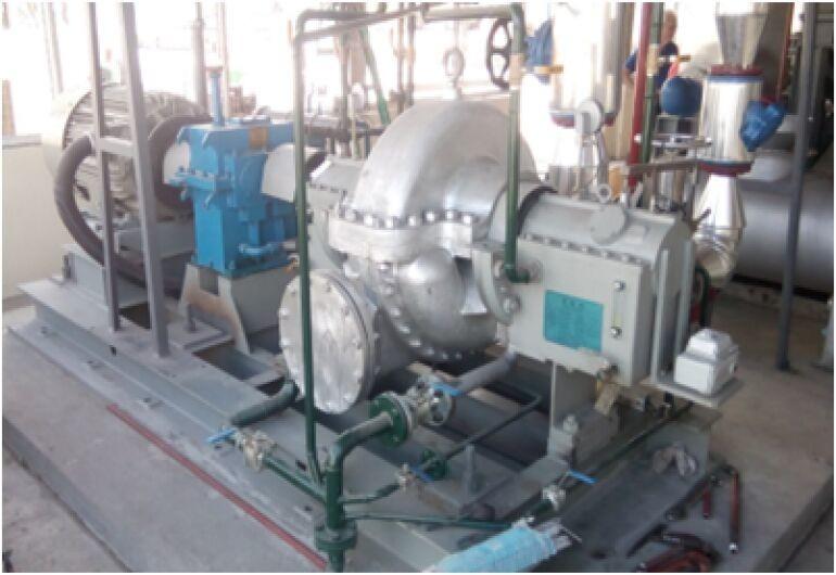 蒸汽餘壓回收汽輪機組75kW-菲律賓