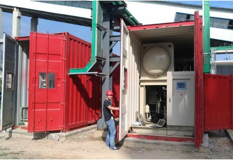 熱水餘熱回收機組238kW-中國河南(3台)