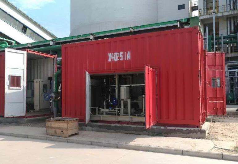熱水餘熱回收機組178kW-中國河南