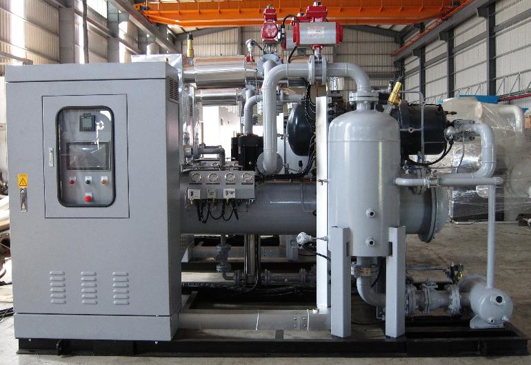 熱水餘熱回收ORC機組33kW-越南