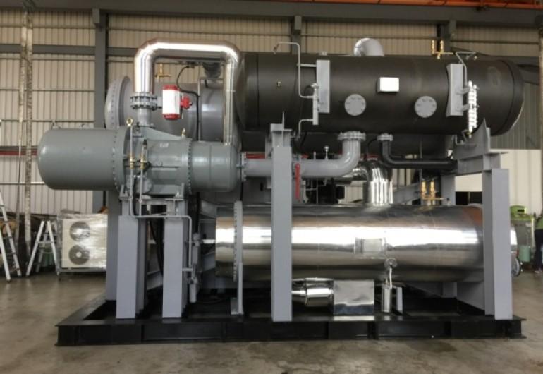熱水餘熱回收機組202kW-大陸上海