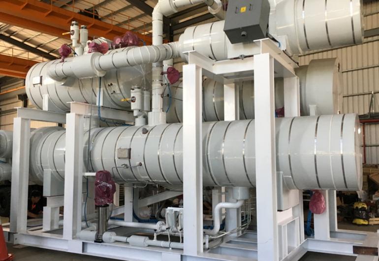 熱水餘熱回收機組240kW-台灣雲林