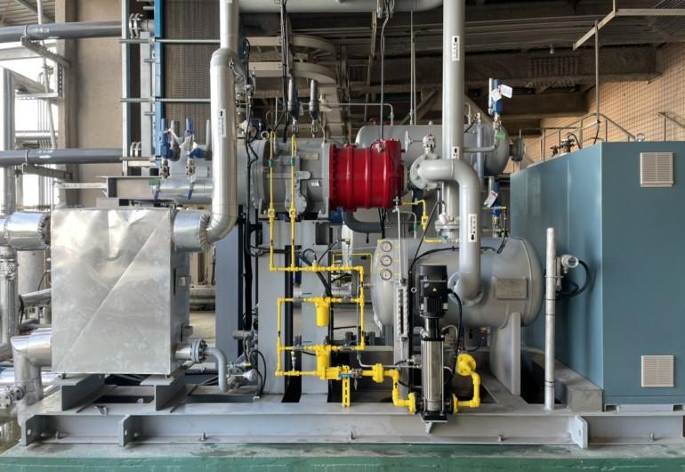 廢熱蒸氣回收發電  ORC機組125kW-台灣金門